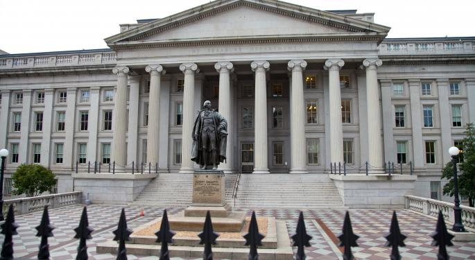 Treasury Auctions $87B In Debt