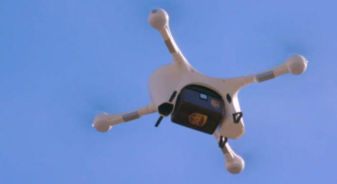 UPS Certified For Unlimited Drone Operations