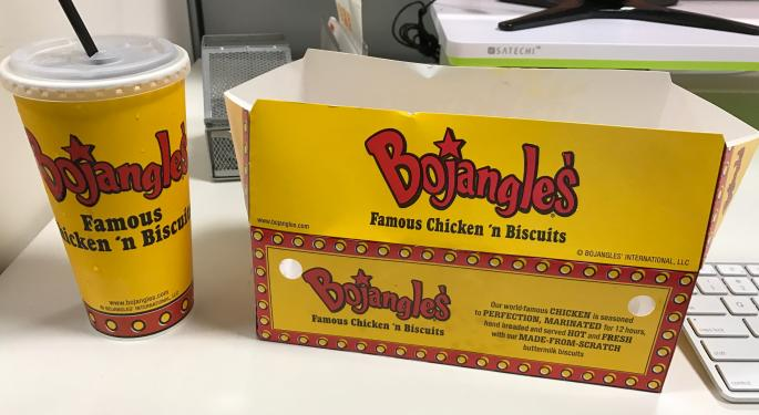 Bojangles Not Likely To Cook Up Sales Growth In 2018
