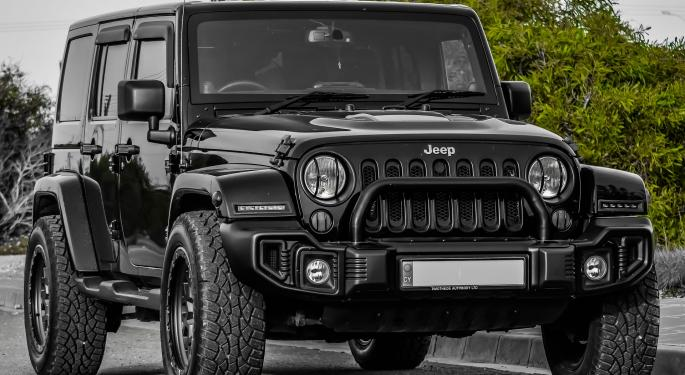 April Auto Sales Fall; Fiat Chrysler's Jeep Is 'Back In The Game'