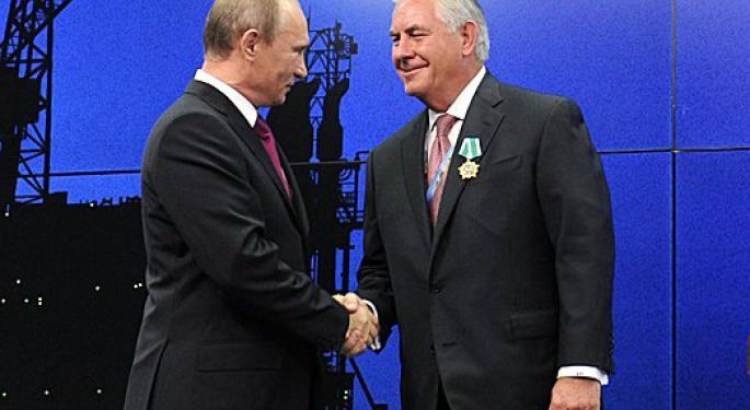 Why Russia And Probably Exxon Want The U.S. To Lift Economic Sanctions