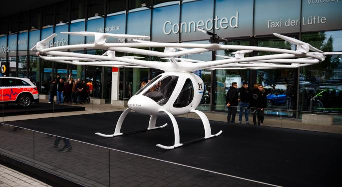 Air-Taxi Startup Volocopter Raises €50M In Series C Funding