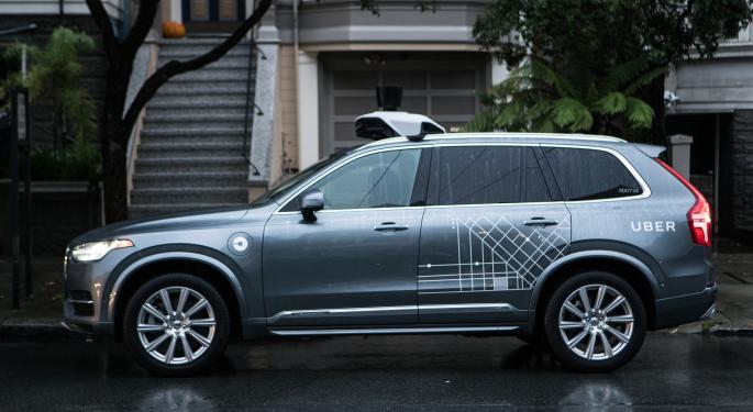 Uber Car Kills Pedestrian While In Self-Driving Mode
