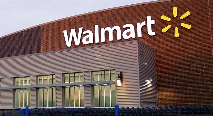 CNBC's Option Guru Previews Walmart Trade Ahead Of Q2 Report