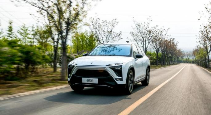Nio Trades Higher After Releasing May Deliveries