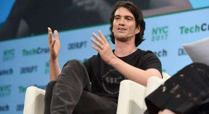 WeWork Founder Sounds Bonkers, But He Sure Does Love Marijuana