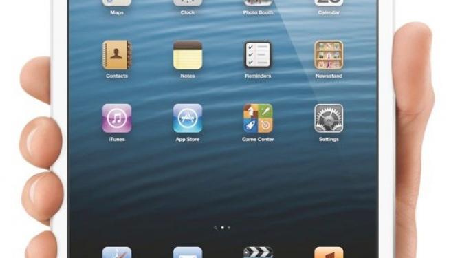 Apple Sells Out of White iPad Mini