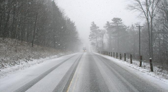 Snow, Severe Storms To Give Truckers Trouble