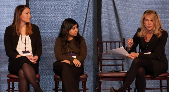 Finance Leaders Talk About The Glass Ceiling At Benzinga's Women's Wealth Forum
