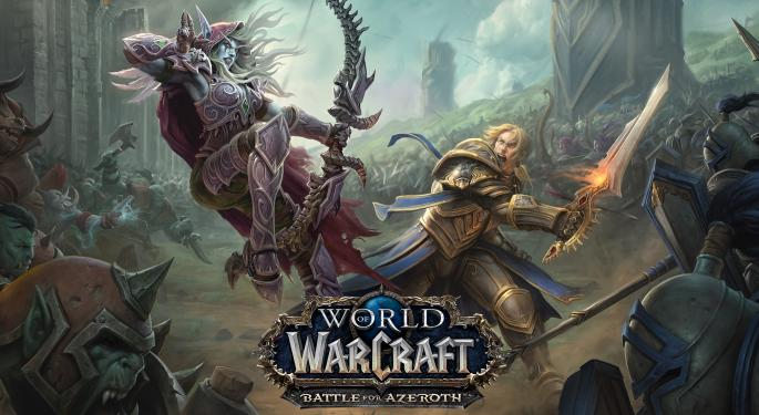 Jefferies: Record-Setting 'World Of Warcraft' Day Could Drive 12% Upside To Activision Blizzard EPS