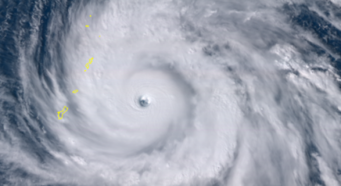 Yutu Now A Powerful Super Typhoon, Closing In On US Territories