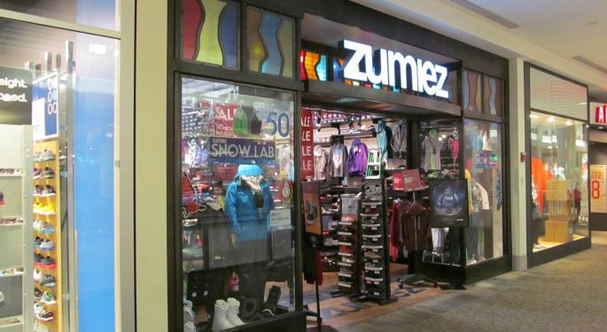 Zumiez's September Comps Zoom Ahead Of Consensus Estimates