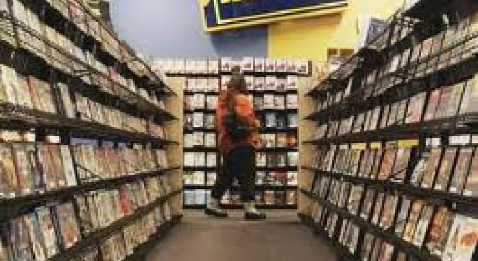 Bye Bye Blockbuster... Video Store Chain To File Bankruptcy Next Month NFLX, CSTR, NCR