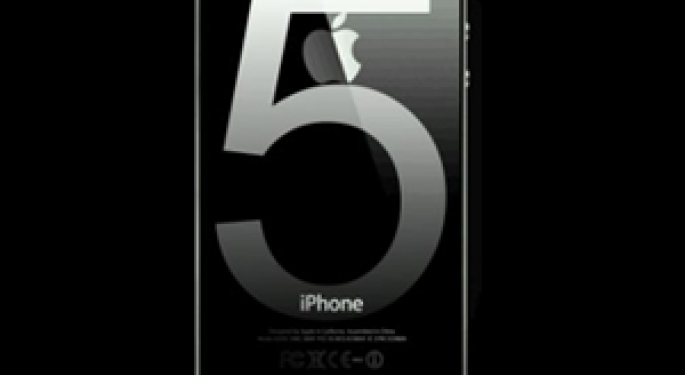 Apple's Rumored iPhone 5 Launch Boosts Stock Price