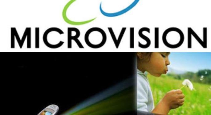 MicroVision Shares Surge on Apple Rumor  MVIS