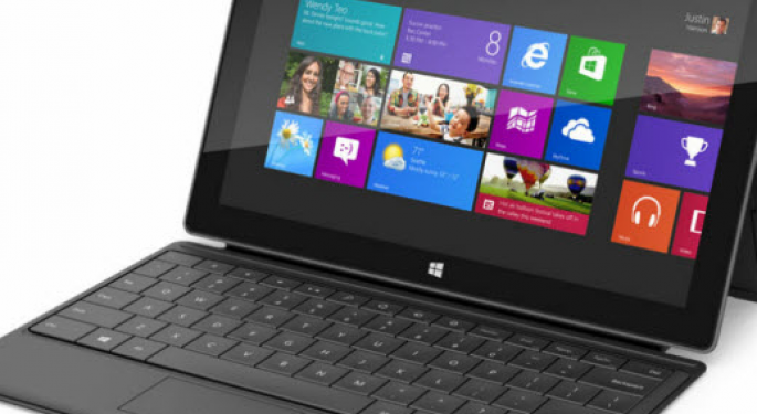 How to Trade a $200 Microsoft Surface Tablet