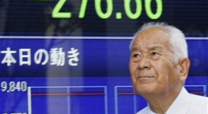 Nikkei Goes Under 10,000 Line as Investors Worry about Yen