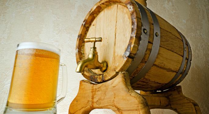 Beer Sales Fizzle Up in the U.S.
