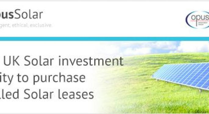 Buy-to-Let Investors are Buying Up UK Solar Leases and Earning 8% to 12% ROI