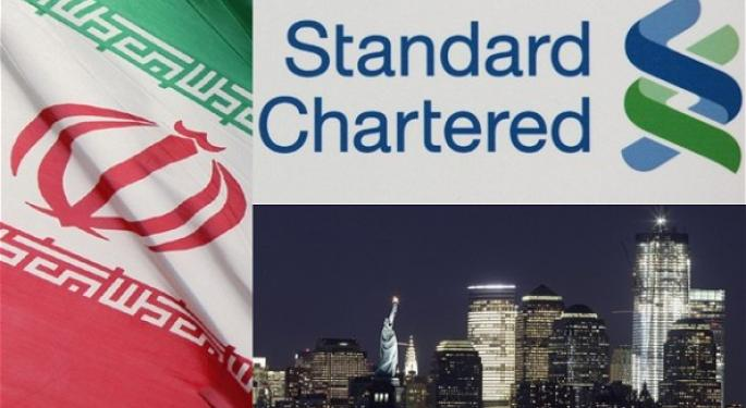 Standard Chartered May Face $700 Million in Fines