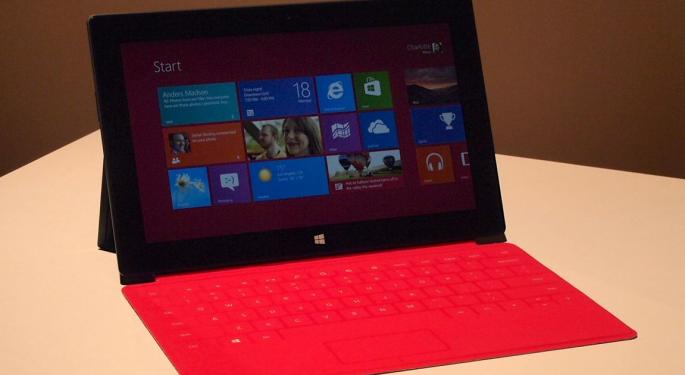 HP Offers Praise for Microsoft's Surface Tablet