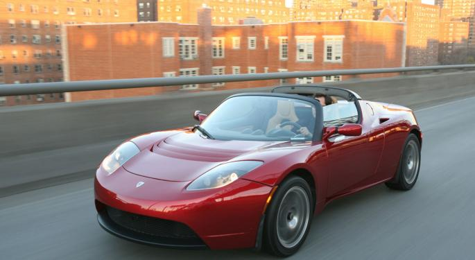 Benzinga Test Drives the Tesla Roadster