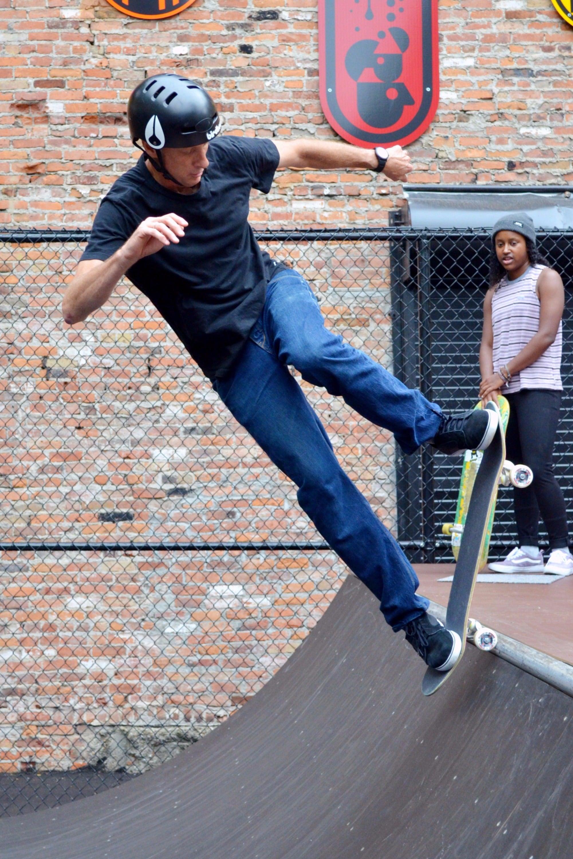 Tony Hawk Opens Detroit Skate Park: 'It's A Great Start ...
